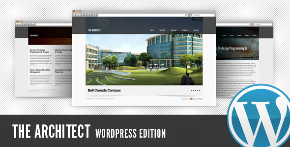 ThemeForest The Architect WP Edition 113414