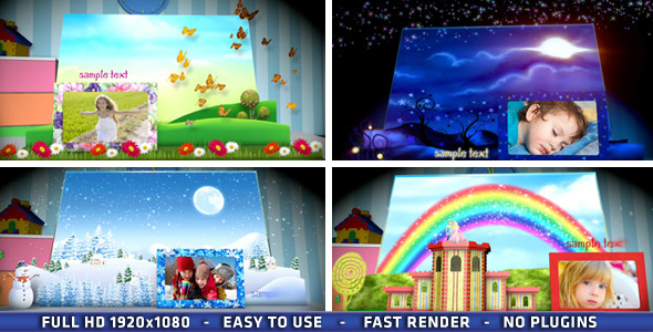 VideoHive Magic Popup Book 3266747