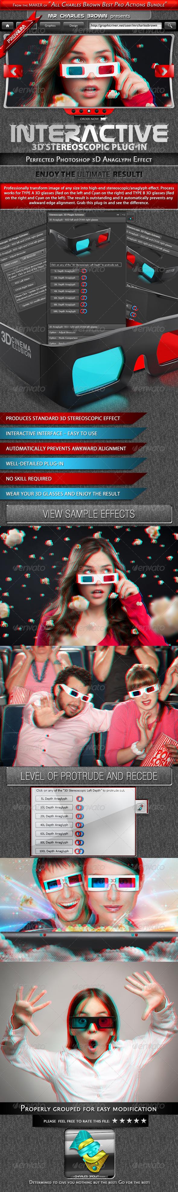 GraphicRiver Interactive 3D Stereoscopic Effect 3266752
