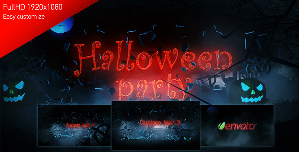 VideoHive Halloween Party 3267249
