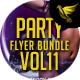 Party Flyer Bundle Vol11 - 4 in 1 - GraphicRiver Item for Sale