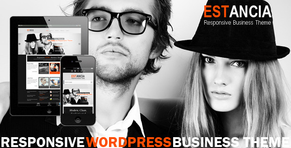 Estancia - Responsive WordPress HTML 5 Theme