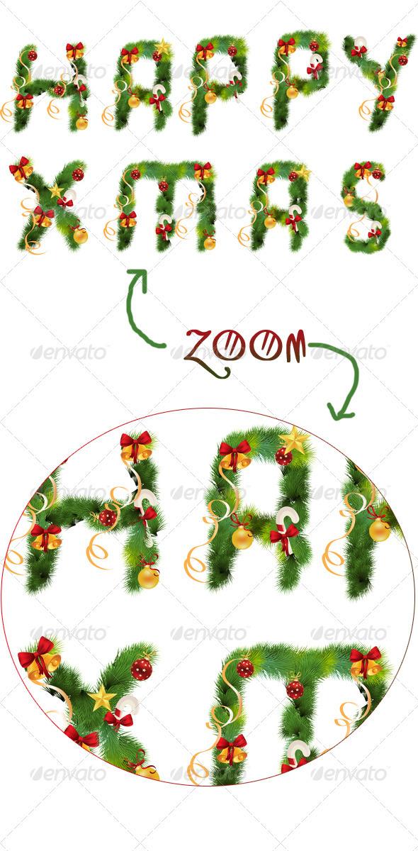 GraphicRiver Christmas Label Decoration 3267737