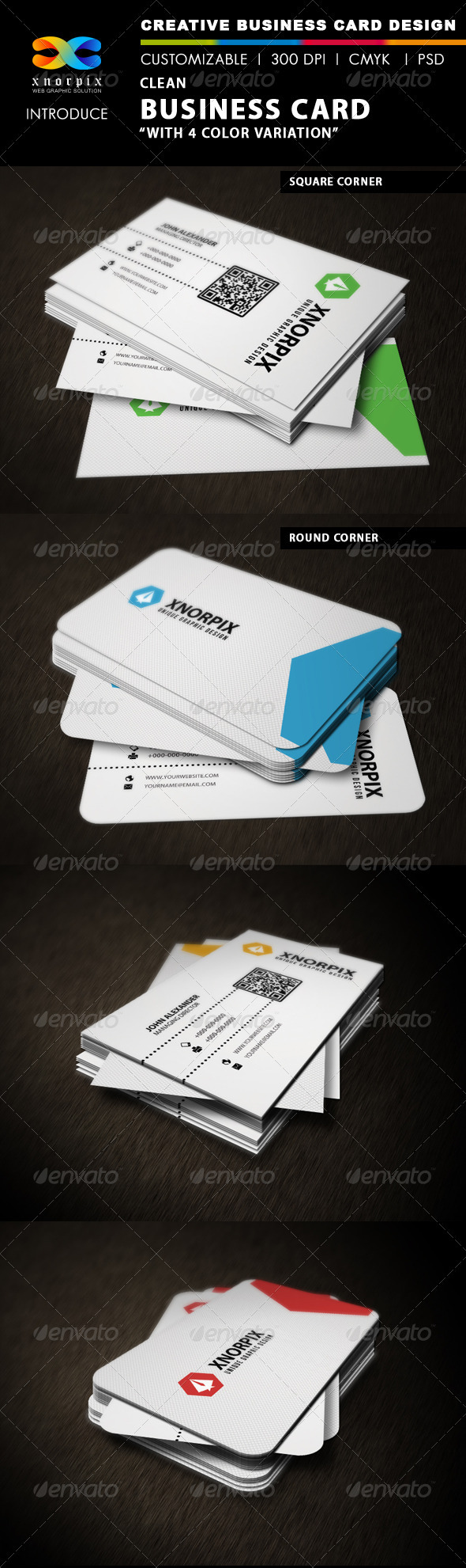 GraphicRiver Clean Business Card 3268380