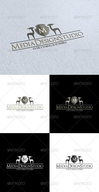 GraphicRiver Media Design Studio Logo 3269323