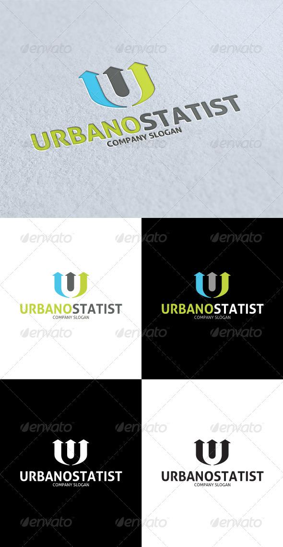 GraphicRiver Urbano Statist U Letter Logo 3269478