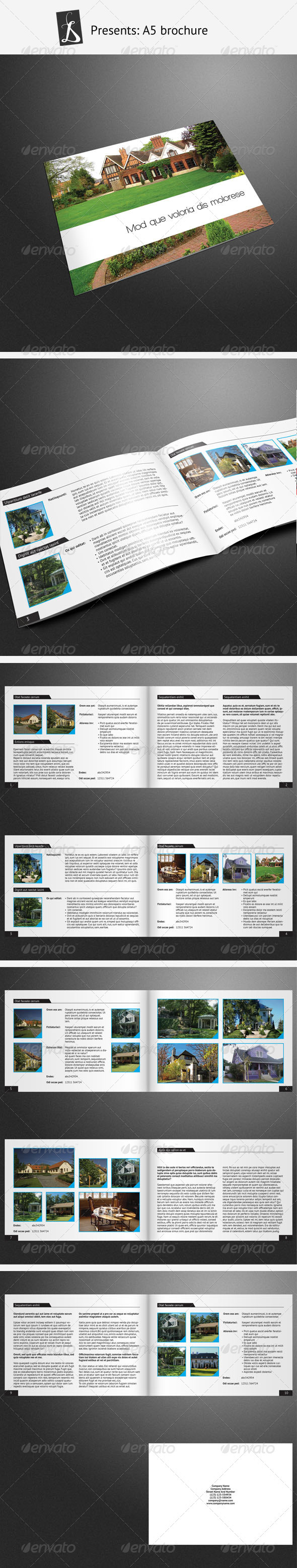 A5 brochure 6 - Corporate Brochures