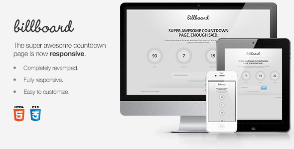ThemeForest Billboard Countdown Page 2363739