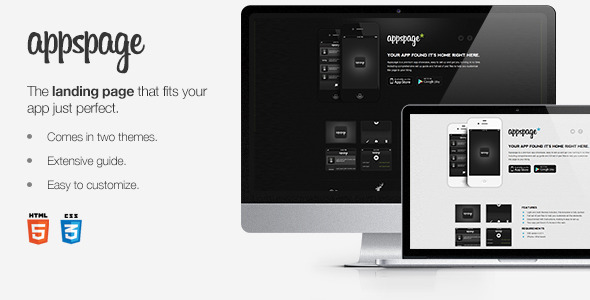 ThemeForest Appspage App Landing Page 2024222