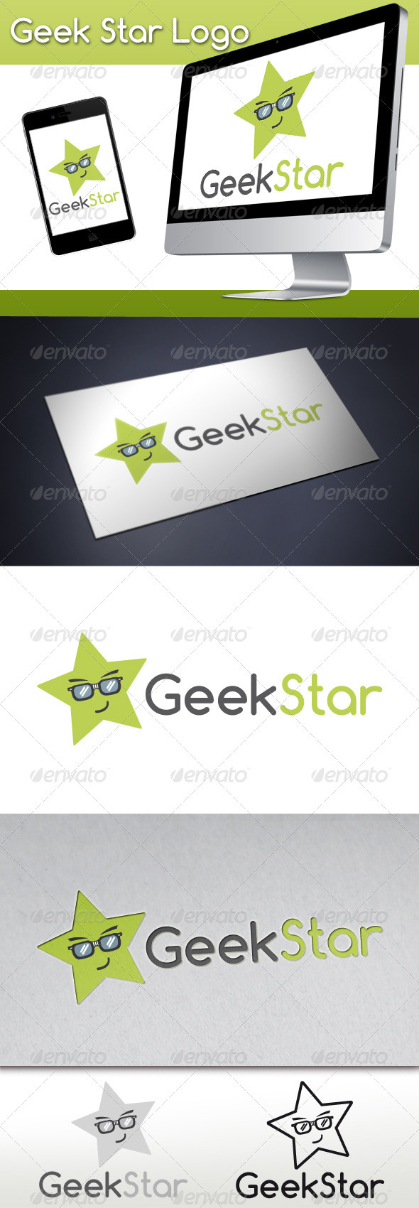 Geek Star Logo