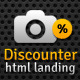 Discounter - Product Promo Landing Page - ThemeForest Item for Sale