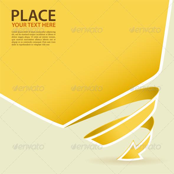 GraphicRiver Spiral Arrow 3270342