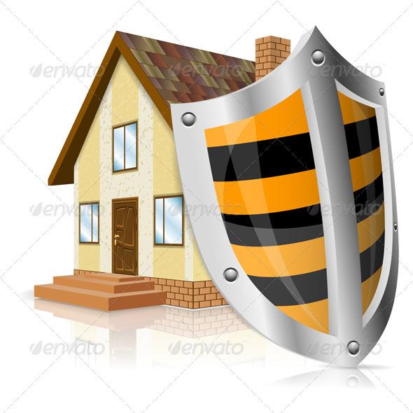 GraphicRiver Safe House Concept 3270387