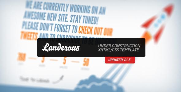 Landerous - Under Construction Page