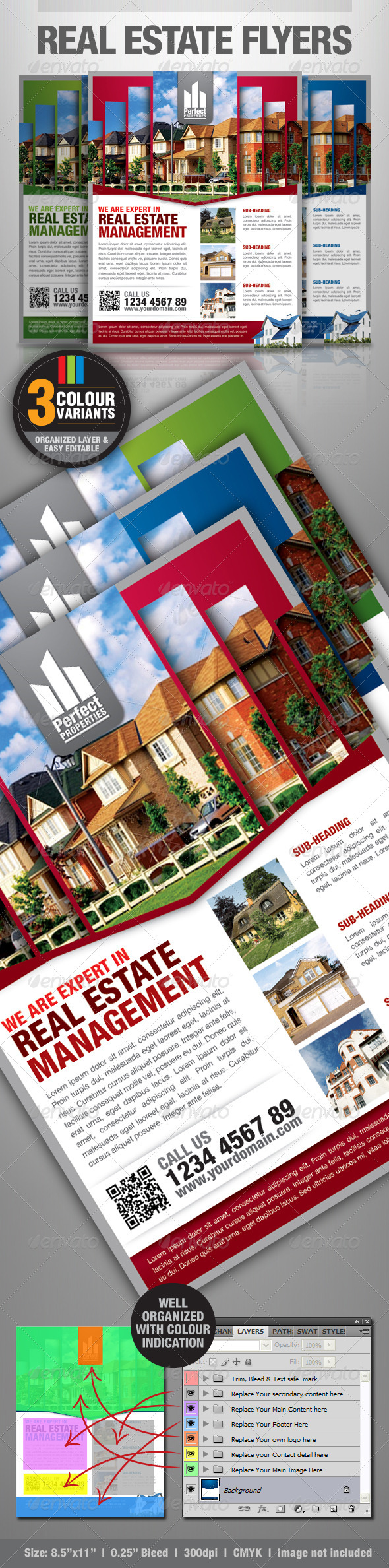 GraphicRiver Real Estate Simple Flyers 2561030