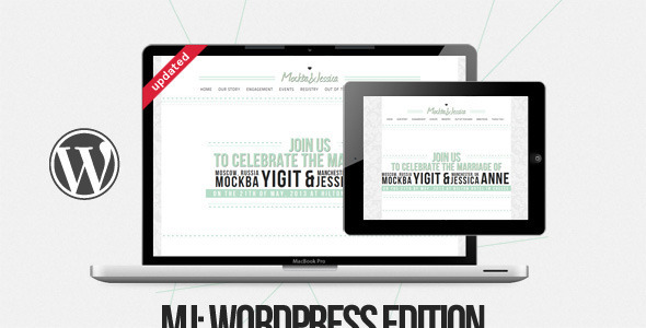 ThemeForest MJ WP Edition 2342060