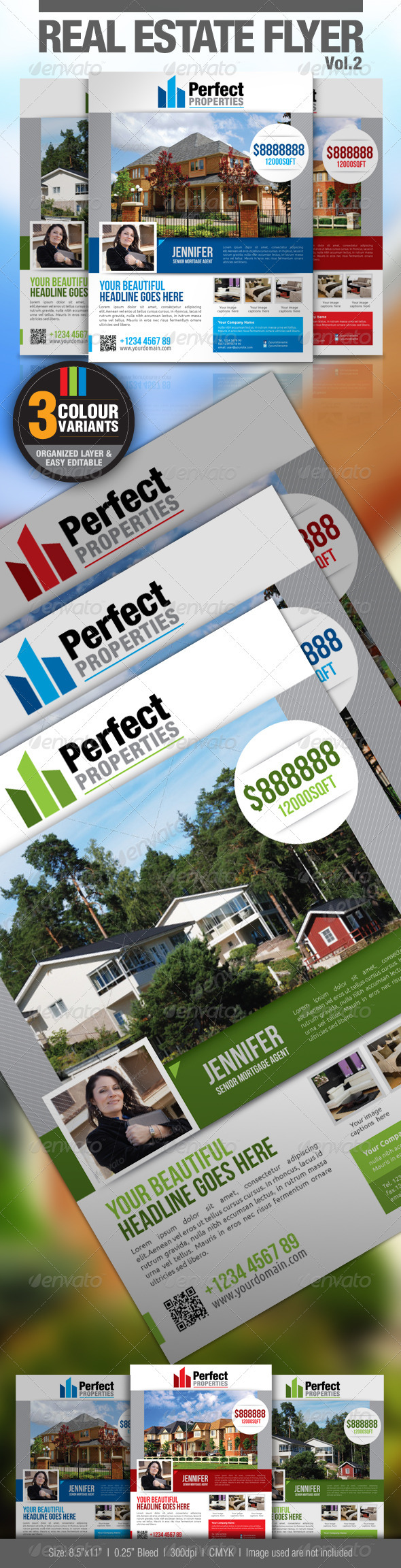 GraphicRiver Real Estate Flyer Vol.2 2608184
