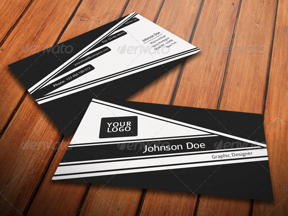 GraphicRiver Simple Fresh Business Card 3207695