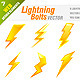 Download Vector 9 Lightning Bolt