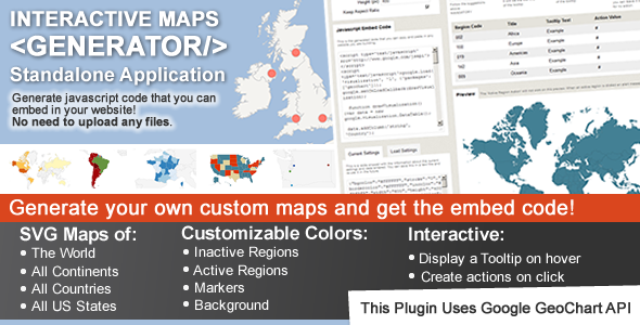 CodeCanyon Interactive Maps Generator 3272382