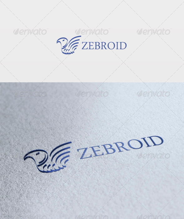 GraphicRiver Zebroid Logo 3272395