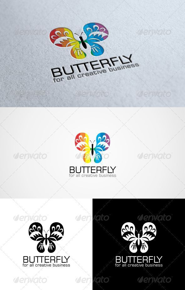 GraphicRiver Butterfly Logo Template 3272596