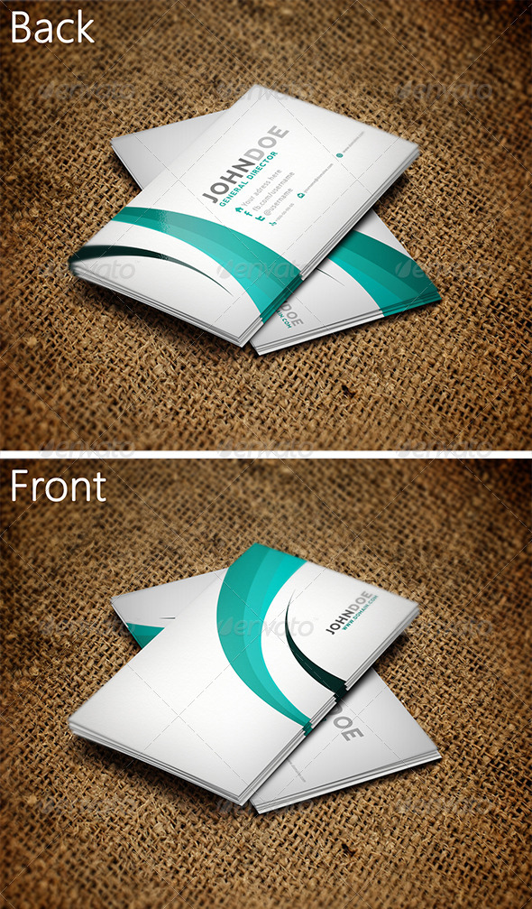 GraphicRiver Creative Business Card 2 3258778