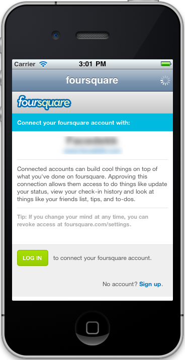 Foursquare oAuth - CodeCanyon Item for Sale