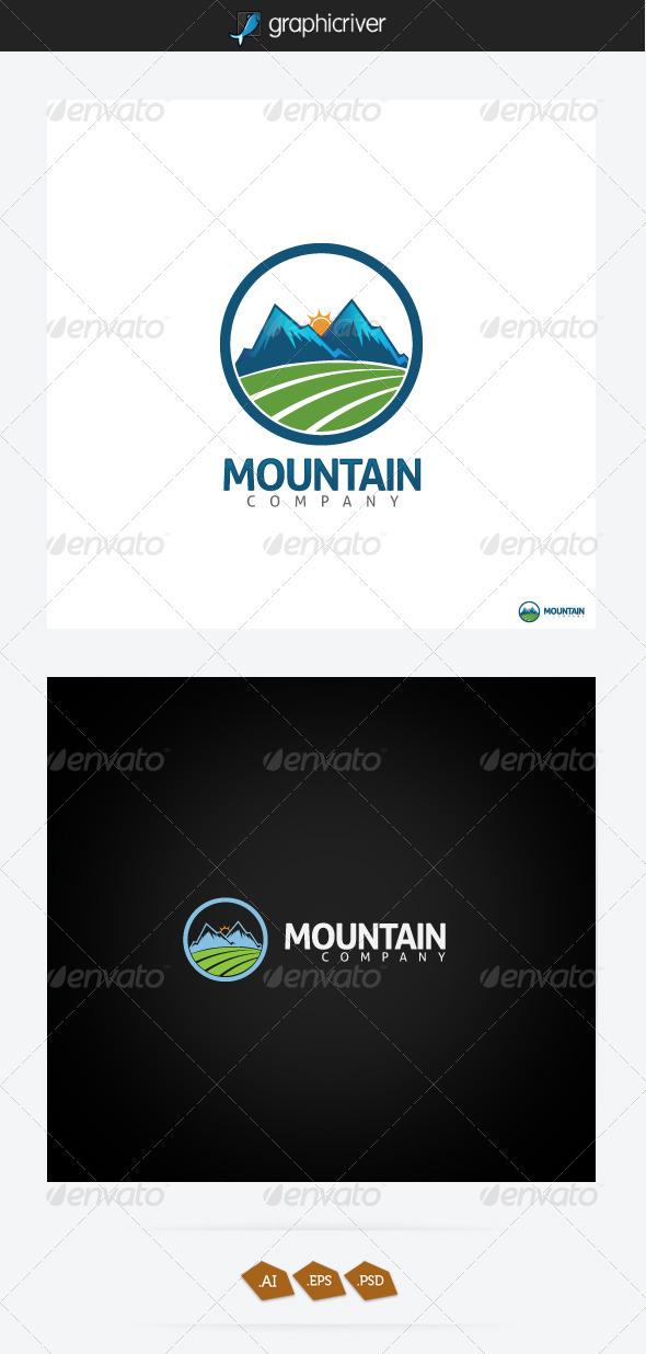 GraphicRiver Mountain Logo 3272772