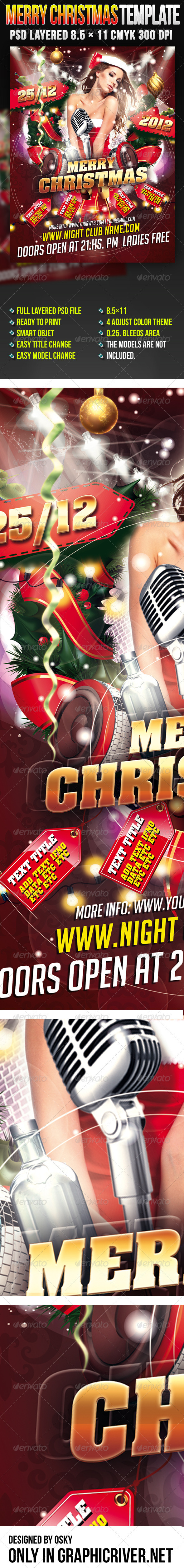 GraphicRiver Merry Christmas Template 3272776