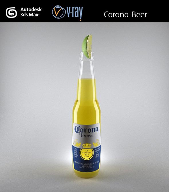 3DOcean Corona Beer 3272780