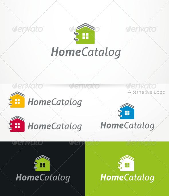 GraphicRiver HomeCatalog V.1 Logo Template 3268327