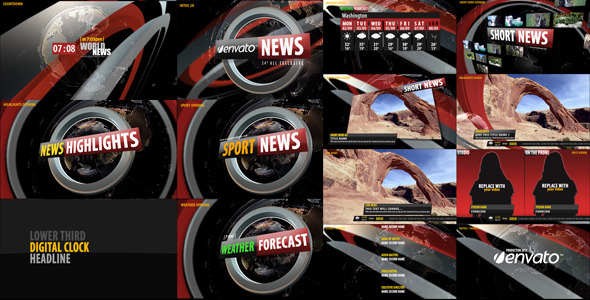 VideoHive News Broadcast Design 3240015
