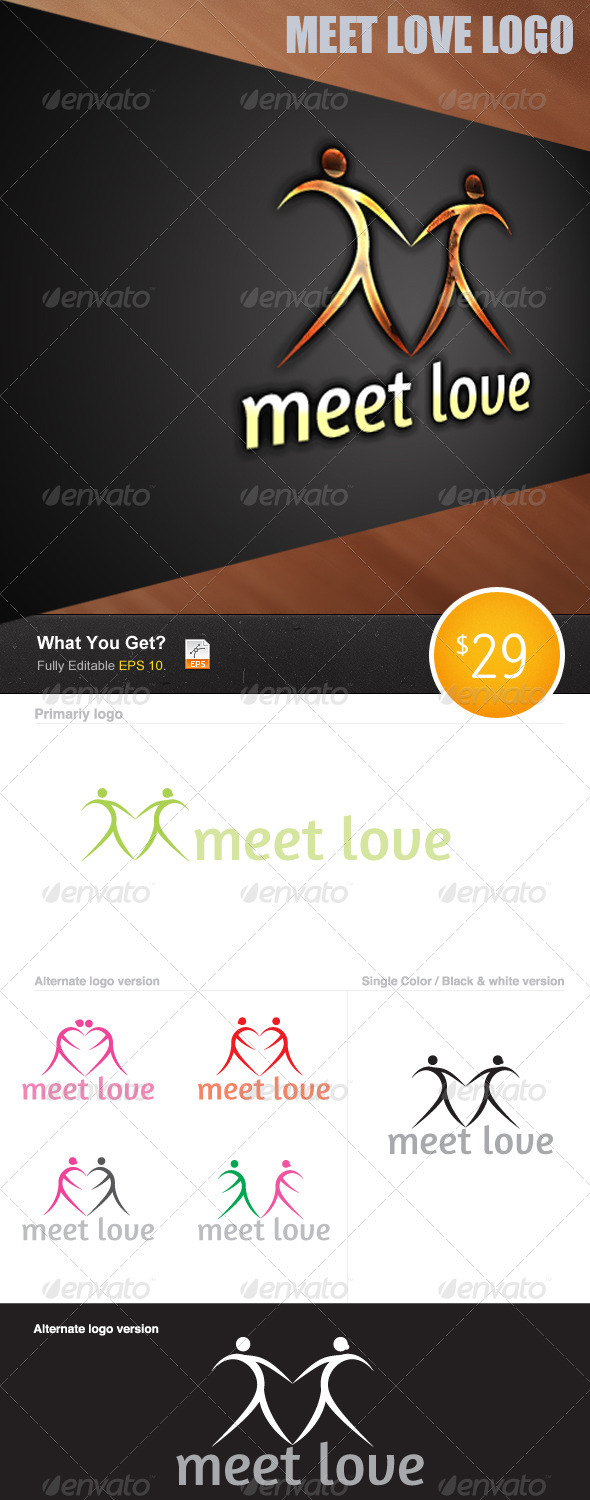 GraphicRiver Meet to Love 3250035