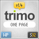 Trimo One Page Wordpress Theme - ThemeForest Item for Sale
