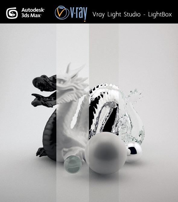 Studio light Setup VRAY - 3DOcean Item for Sale
