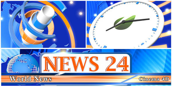 VideoHive World News 3234197