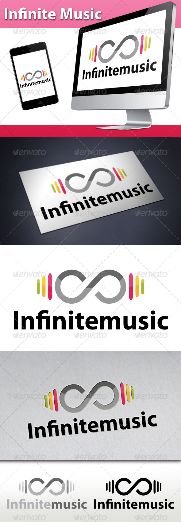 GraphicRiver Infinite Music Beats Logo 3274802