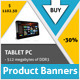 Box Banners - GraphicRiver Item for Sale
