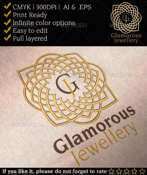 GraphicRiver Glamorous Jewelry Gallery Logo 3256693