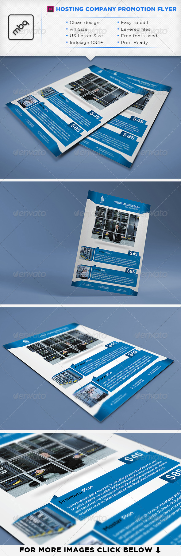 GraphicRiver Hosting Company A4 & Letter Flyer 3275050