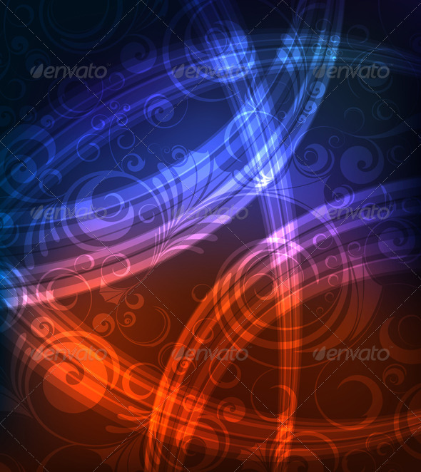 GraphicRiver Ornamented background 3275323