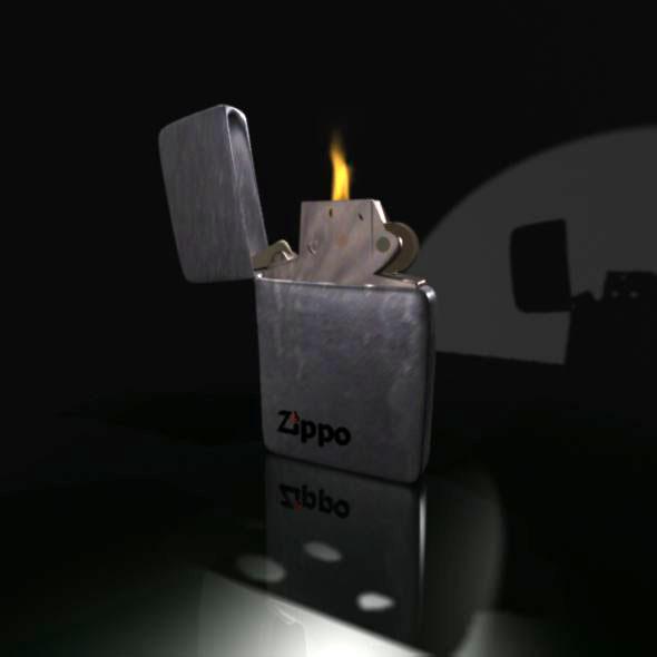 3DOcean Zippo 3D 3264633