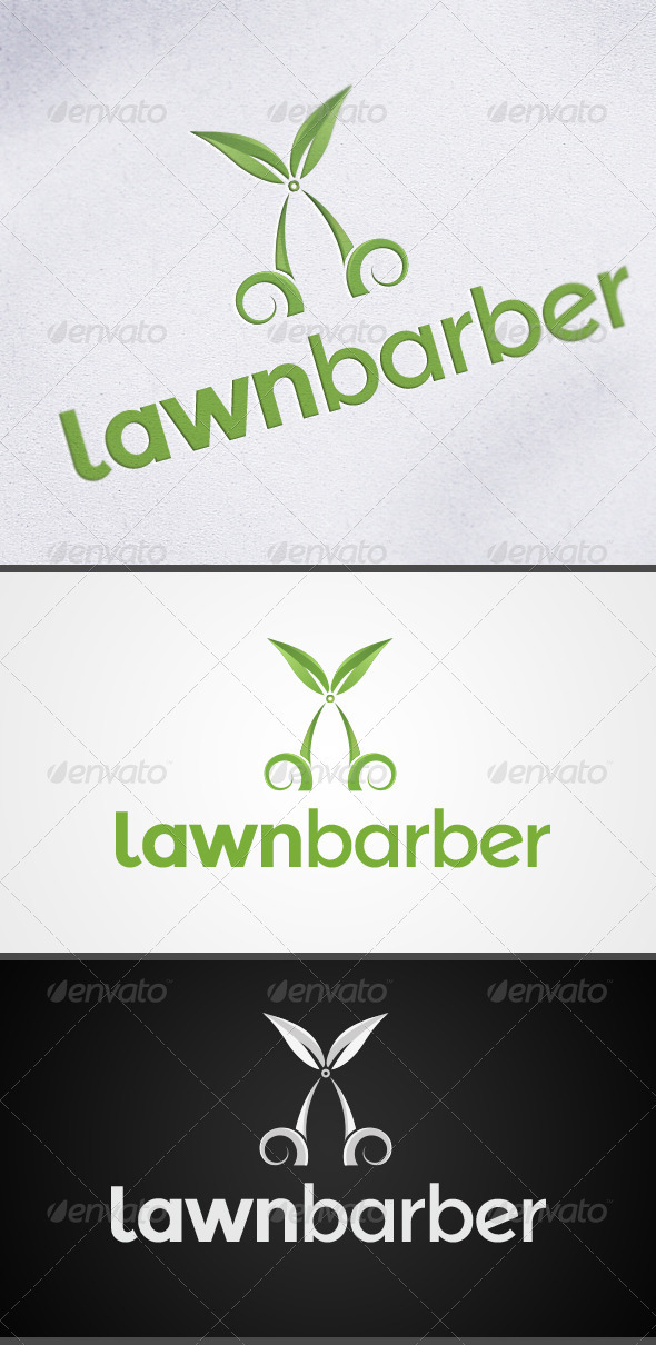 GraphicRiver Lawn and Garden Logo 3275540