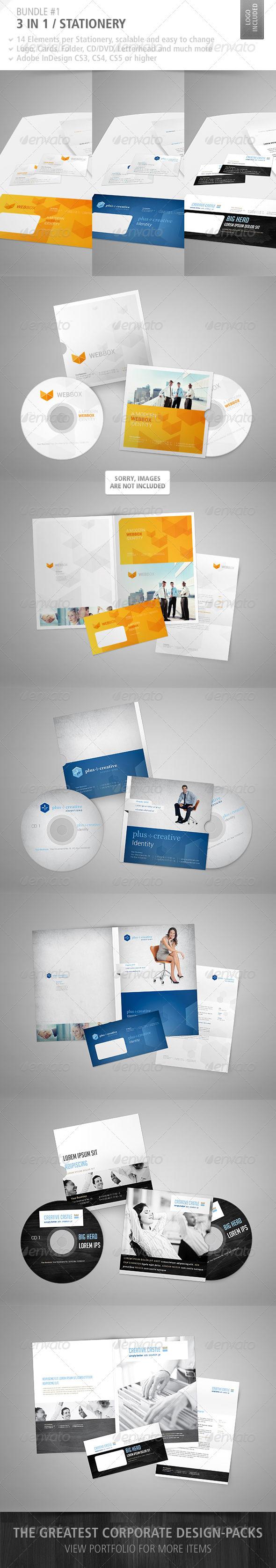 GraphicRiver Stationery Bundle #1 3275651