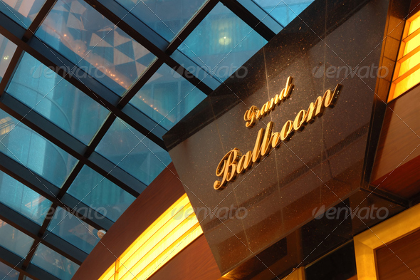 Grand ballroom - Stock Photo - Images