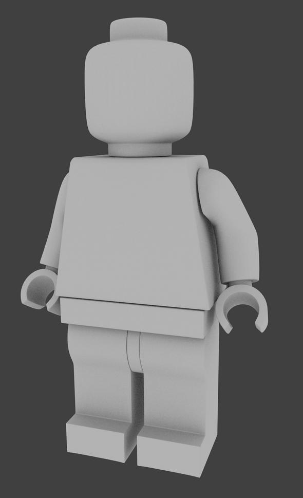 Lego Minifigure - 3DOcean Item for Sale