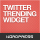 Twitter Trending Widget: A jQuery WordPress Plugin - CodeCanyon Item for Sale