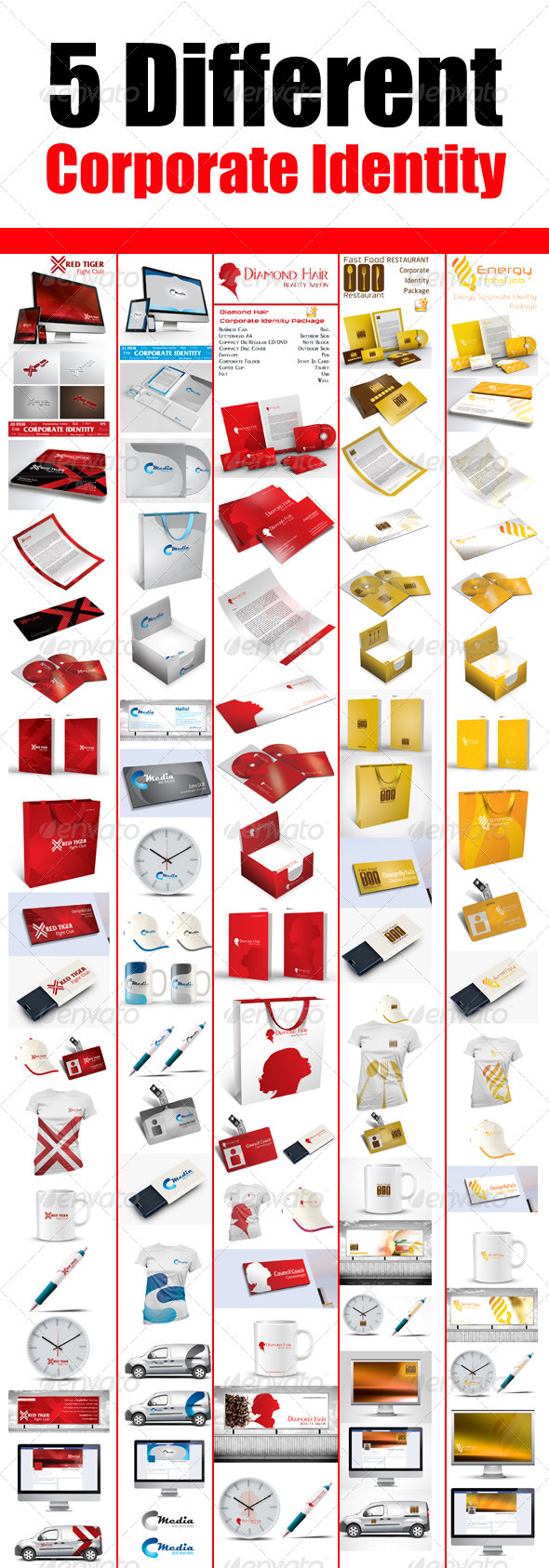 GraphicRiver Corporate Bundle V2 3276458