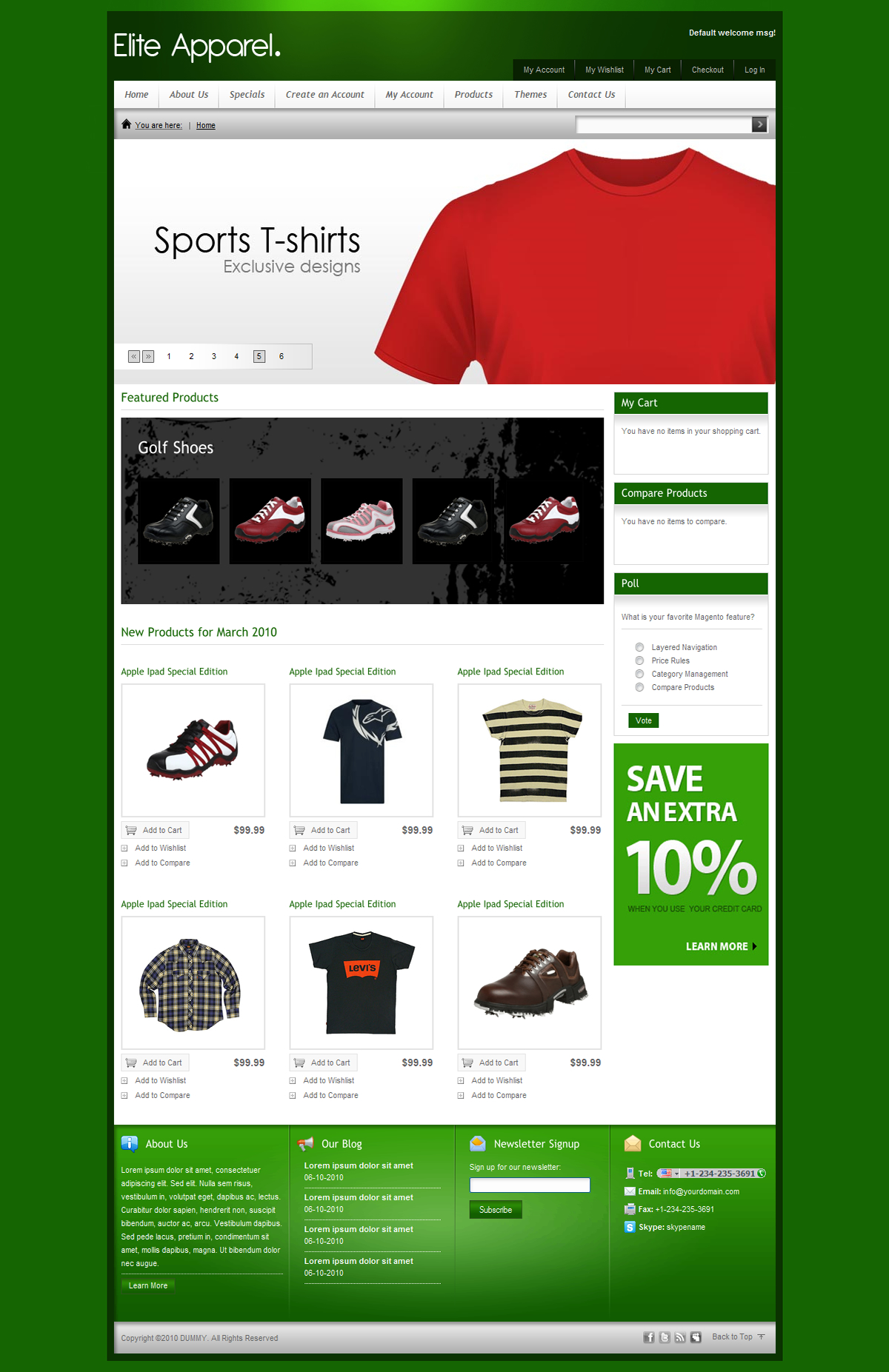 Elite Ecommerce Shopping Store 9